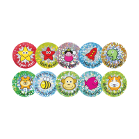28mm Sparkly Stickers - Mixed Pack