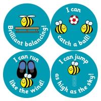 PE Reward Stickers (38mm)