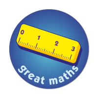 Great Maths - Ruler Sticker (38mm)