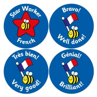 French Reward Stickers (38mm)