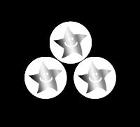 10mm Silver Metallic Smiley Mini Star Stickers