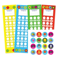 Home Learning Collector Bookmarks And Sticker Pack
