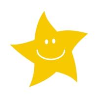 Sticker Factory Stamper: Gold Star