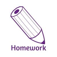 Sticker Factory Stamper: Homework Pencil - Purple