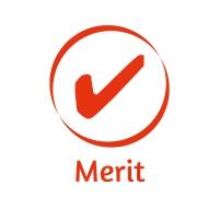 Sticker Factory Stamper: Merit Tick - Red