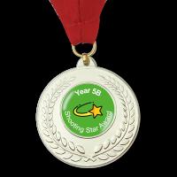 Personalised Medal: Silver