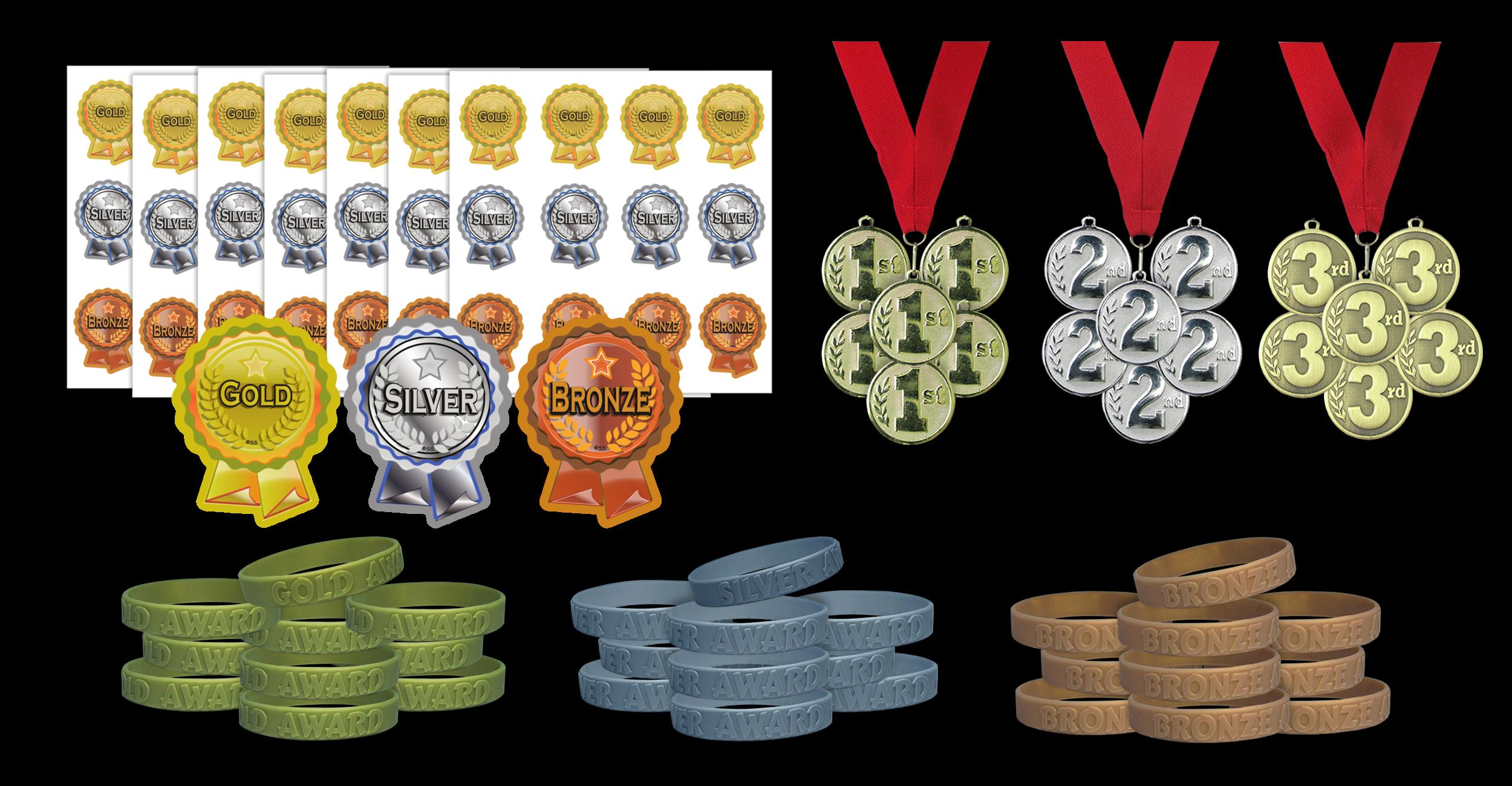 Superpack: Gold, Silver, Bronze Rewards Pack