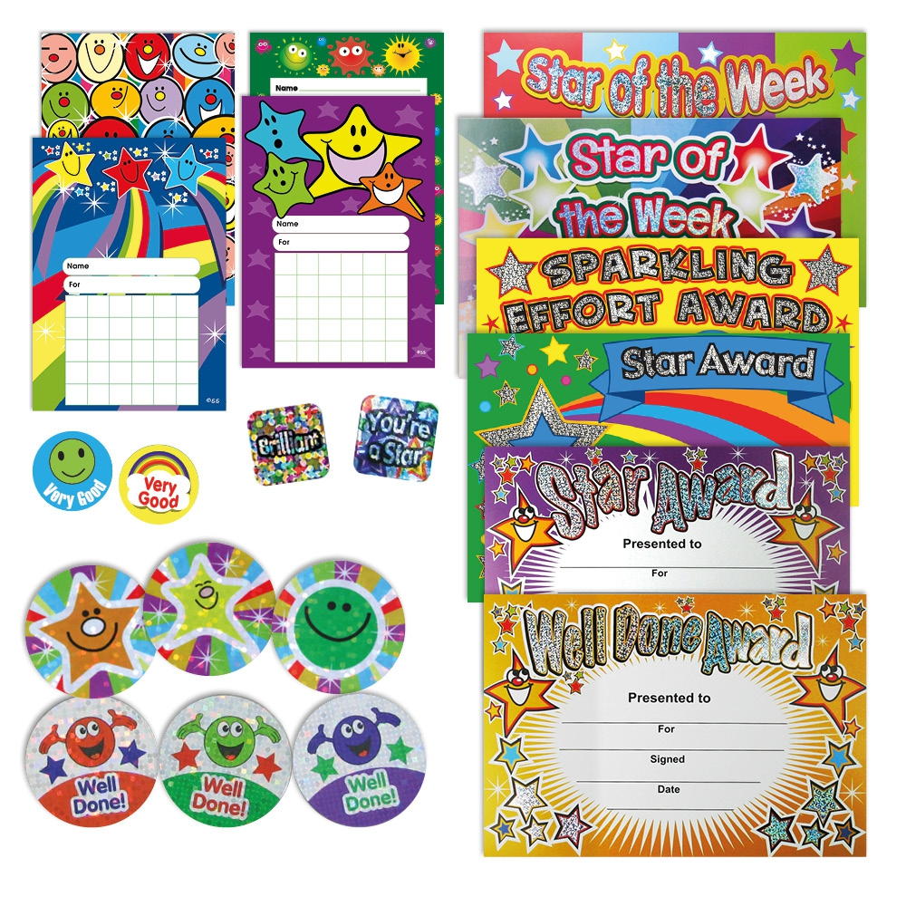 Home Learning Rewards Pack - Sparkling