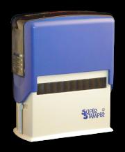 Personalised Stamper: Rectangular Budget Stamper