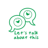 Stamper: Let`s Talk About This - Green
