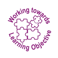 Stamper: Working Towards Learning Objective - Purple