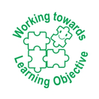 Stamper: Working Towards Learning Objective - Green