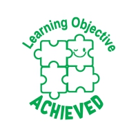 Stamper: Learning Objective Achieved - Green