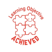 Stamper: Learning Objective Achieved - Red