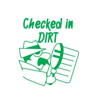 Stamper: Checked In DIRT