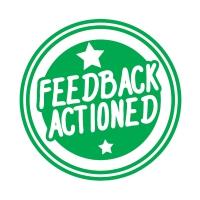 Stamper: Feedback Actioned - Green