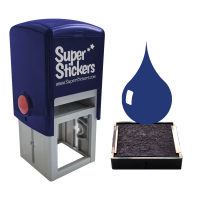 Ink: 28mm Stamper Blue Ink Pads - Pack Of 2