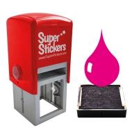 Ink: 28mm Stamper Pink Ink Pads - Pack Of 2