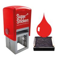 Ink: 28mm Stamper Red Ink Pads - Pack Of 2