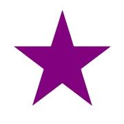 Stick Star Stamper: Purple (6mm)