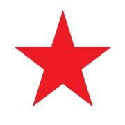 Stick Star Stamper: Red (6mm)