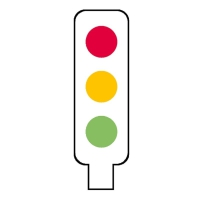 Stamper: Coloured Traffic Light