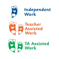 3 In 1 Stamper: Teacher / TA Assisted / Independent Work