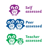 3 In 1 Stamper: Self / Peer / Teacher Assessed