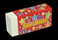 Erasers: Super Maths