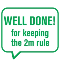 Stamper: Well Done For Keeping The 2m Rule