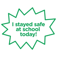 Stamper: I Stayed Safe At School Today