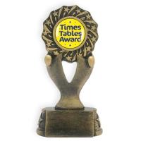 Trophy: Times Tables Award Rosette