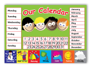 Poster: Early Years Classroom Calendar