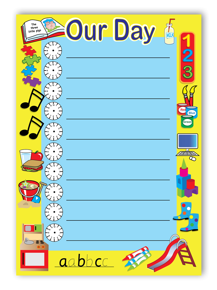 Poster: Our Day Timetable