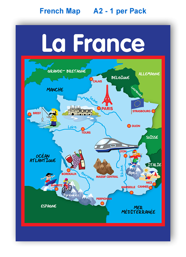 Poster: French Map