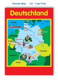 Poster: German Map