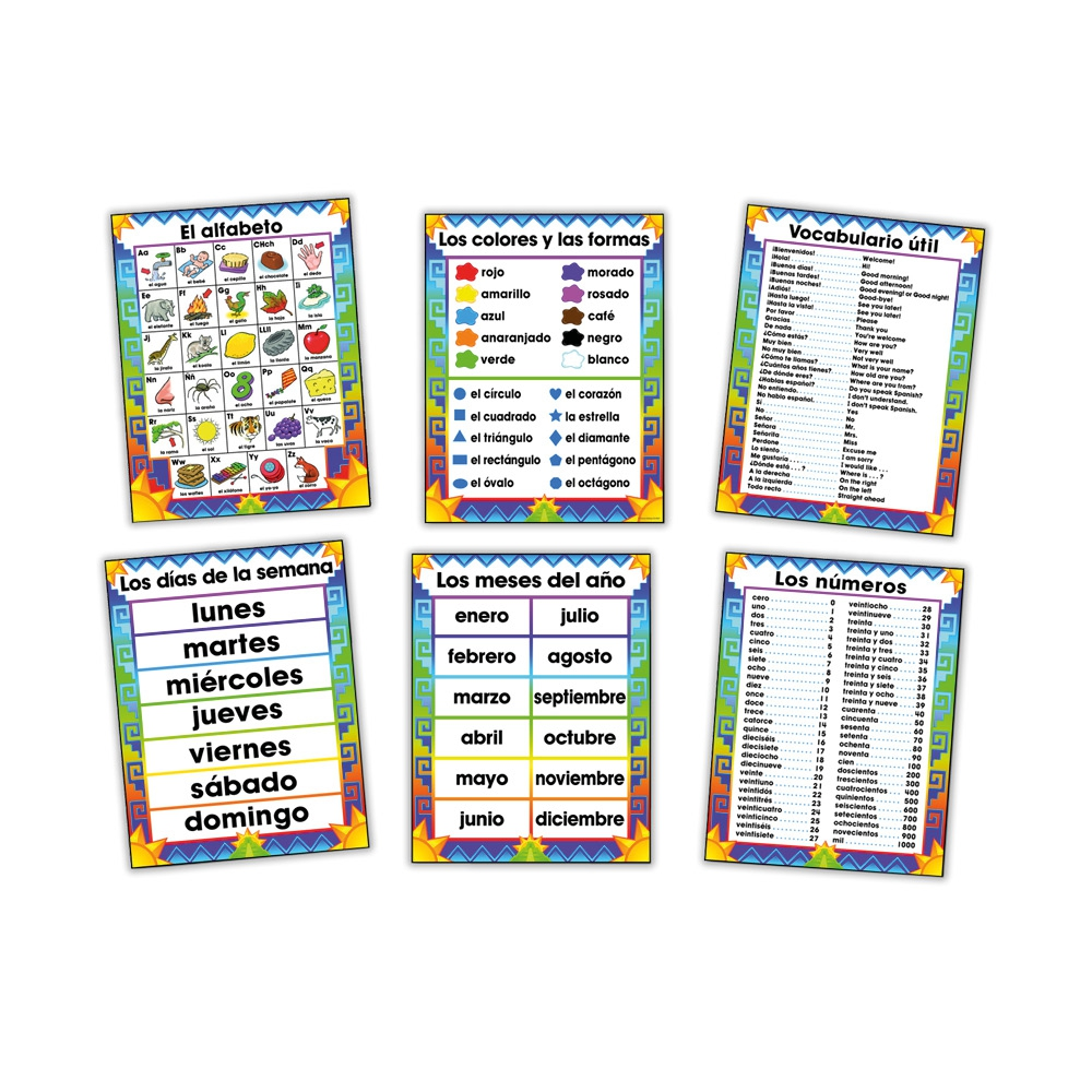 Poster: Spanish Bulletin Boards Set