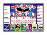Poster: French Calendar