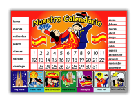 Poster: Spanish Calendar