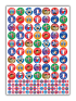 Sticker: French - Bumper Pack 50 (5 X AS11680)