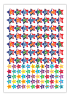 Sticker: French Stars - Bumper Pack 50 (5 X AS13778)
