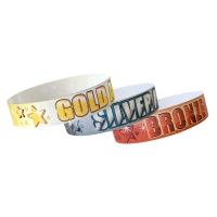 Wristband: Bulk Pack - Gold, Silver, Bronze