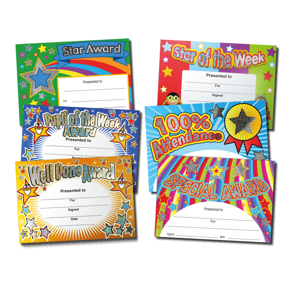 Certificate: Quick Pack - Sparkling