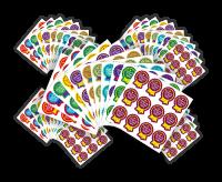 Sticker: Times Table Rosette Bulk Pack 660