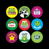 Sticker: Premixed Praise Mini Sticker Bumper Pack - All Praise