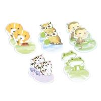 Notepad: Set Of 10 Animal Sticky Notepads