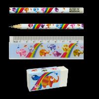 Stationery Set: Rainbow Colours