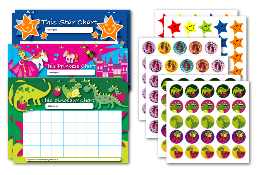 Chart & Stickers Quick Pack